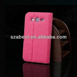 Leather Pouch Case For Samsung Galaxy Grand i9082,For Galaxy Grand Book Style Leather Case
