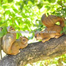 luxury villa cute squirrel wholesale garden decor
