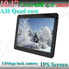 "10"" IPS android 4.1 tablet pc 4 Metal"