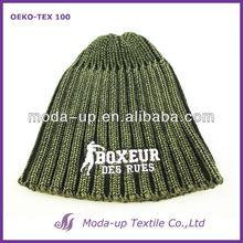 men's custom embroidered beanie hat