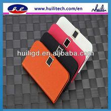 2013 Supreme genuine leather mobile phone cover case for Blackberry q10