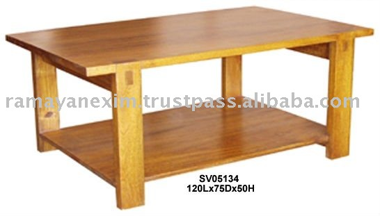 Wooden Coffee Table Designs India