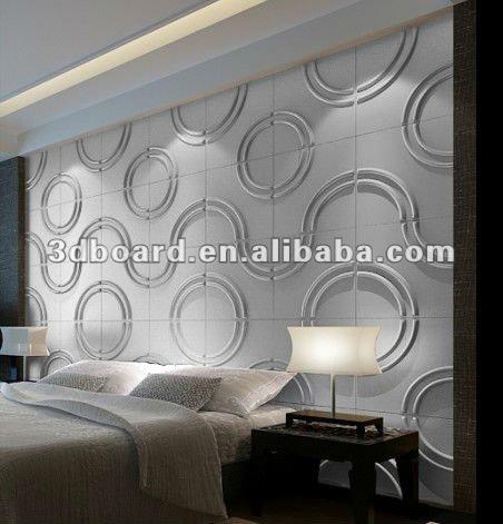 Material de construção 3d placa de painel de parede interior decorativa pintura a óleo sobre tela