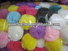 Hot Sale Assorted Colors Festives Supplies Plush Acrylic Pom Poms