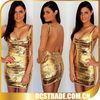 gold sequin celebrity bandage bodycon dress wholesale