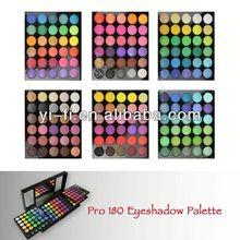 Wholesaler ! 180-A eyeshadow palette makeup kit new model developed. for oem service only.