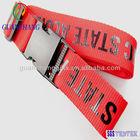 Luggage belt/ luggage strap with plastic buckle custom logo