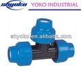 2014 de China de alta calidad PP de accesorios de acoplamiento accesorios de tubería de horno de acrílico