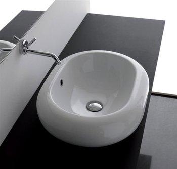 Lavabo appoggio ovale