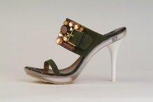 Crystal Stone Design High Heel Shoes
