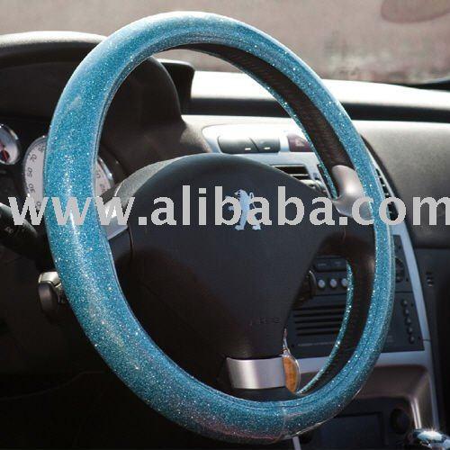 Blue Steering Wheel Steering Wheel Cover Made