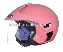 Half face helmet motorcycle open face helmet clear helmets