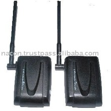 2.4 g wireless , stereo sound video transmitter/Receiver, wireless av sender transmitter receiver