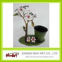 Mini metal garden flower pot,flower design flower pot
