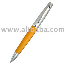 Elegant Orange Twist Pen