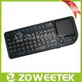Meilleure vente 2013 2.4g mini clavier sans fil lettres coréennes pour smart tv