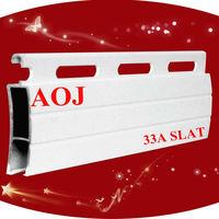 33mm aluminum extrusion roller shutter slats