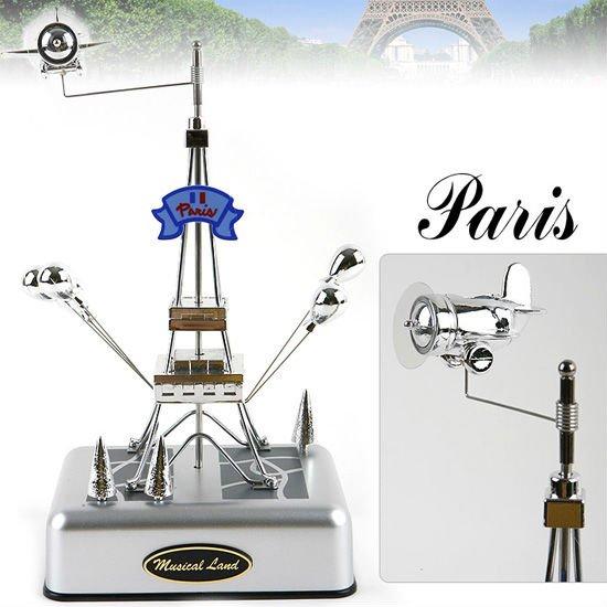 Eiffel Tower Wind Up Music Box