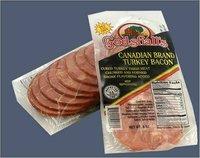 Canadian Turkey bacon