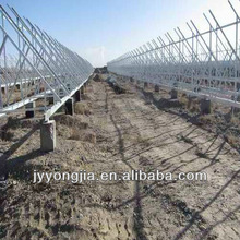 100kw /250kw /500kw Ground Solar mounting system ,solar ground pile or ram mounting systems