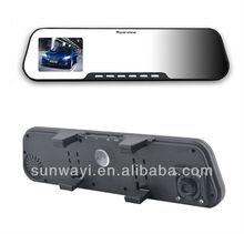 2.7inch Bluetooth Mirror car DVR hd webcam camera with night vision