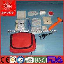 nylon dog pet first aid kits bag with CE FDA