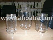 glass jars for food