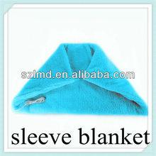 USB warm blanket heated fleece electric hand crochet baby blanket