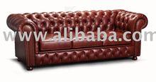 Chesterfield 3-er sofa