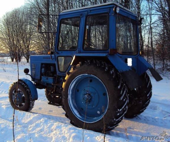 Traktor M T Z 80.82 (Belarus) und andere.