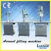 Manufacturer CE ,ISO 9001 semi automatic aerosol butane gas filling machine