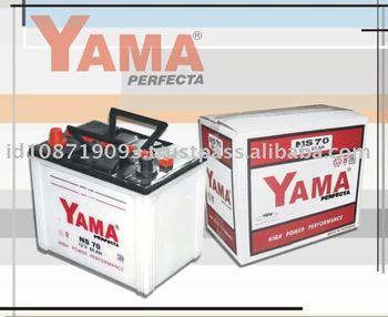 NS70/70L YAMA Lead Acid Battery