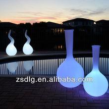 Outdoor Furniture / Plastic Floor lamp / Led shine Furniture
