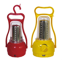 popular camping light led solar lantern with mobile phone charger