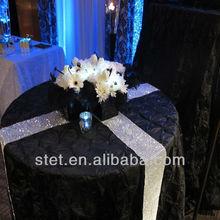 Sparkle plastic garment tables accessories for wedding decoration