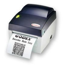 Make Easy! Godex EZ DT-4 thermal barcode label machine / label sticker machine