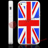 Flag Cover for iPhone !#iP5-2020G#United Kingdom Flag With White Frame Silicone Cover for iPhone 5
