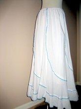 Swirled Seam Skirt