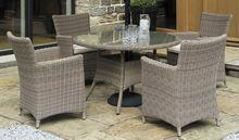 Patio Furniture Round Tables 6 Chairs China/ Foshan Garden Furniture