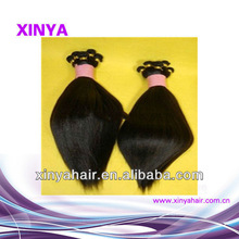 Wholesale fashion and beauty 5A grade Thailand ebony yaki hair weave