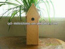 Custom wooden bird house