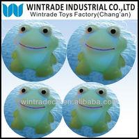 LED Light Up Frog Toy, Flashing Frog, Floating Rubber Frog
