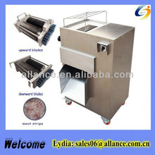 High grade fresh meat shredder machine for shredding fresh lamb /mutton /pork /beef /strips