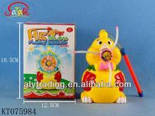 Kids Plastic Cheap Electric Windmill Flash Soap Bubble Toy