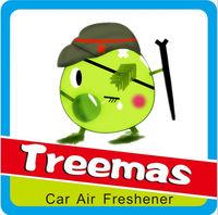 Customized hanging fragrance use for car /paper car freshener