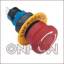 ONPOW emergency reset button switch(LAS1-A 22mm Series,Dia.22mm,CE,ROHS,REECH,IP40,IP65)
