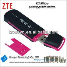 New Original Unlock ZTE USB MF637 3G Modem HSDPA 7.2Mbps