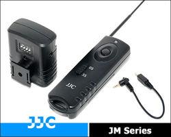 JJC 16 Channels Wireless Shutter Remote Control Release JM-N Replace SAMSUNG SR2NX2 for Samsung cameras: NX1000, NX20, NX210