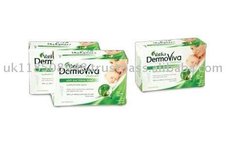 VATIKA DERMOVIVA NATURALS ANTI-BACTERIAL SOAP 125GM
