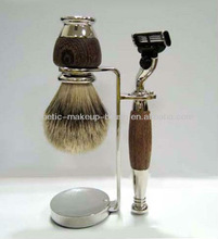 Fusion Fashion Shaving Set with Art Metal Stand